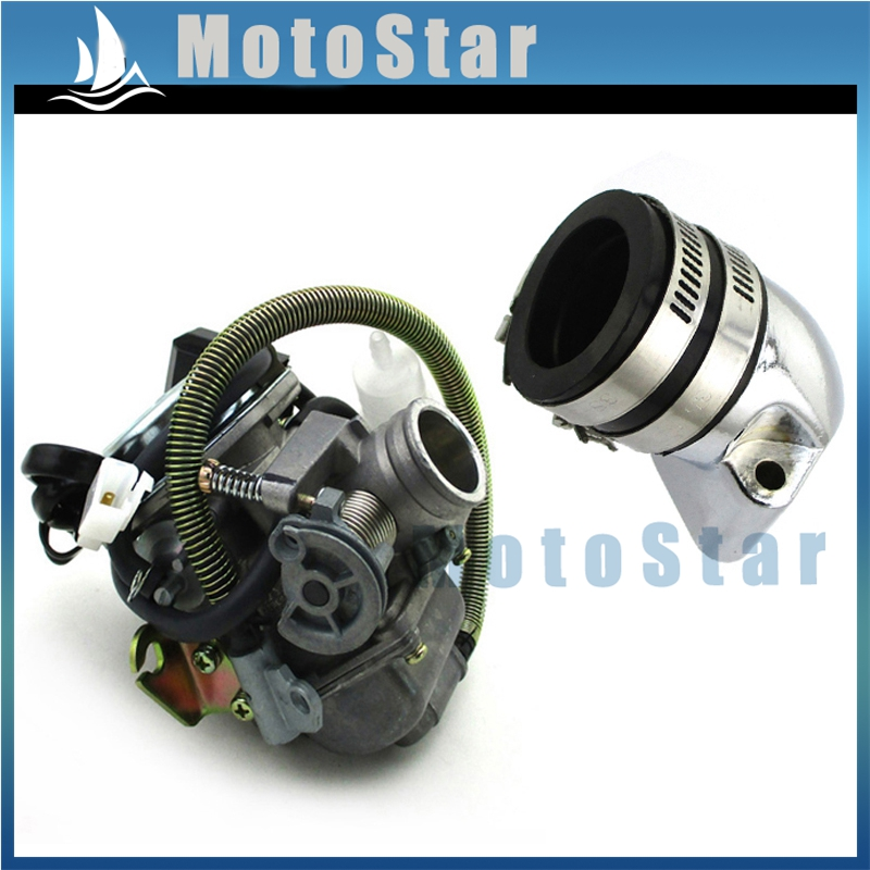 24MM CARBURETOR ASSEMBLY  LANCE VINTAGE BAJA SC150 SC125 150CC GY6 150 SCOOTER