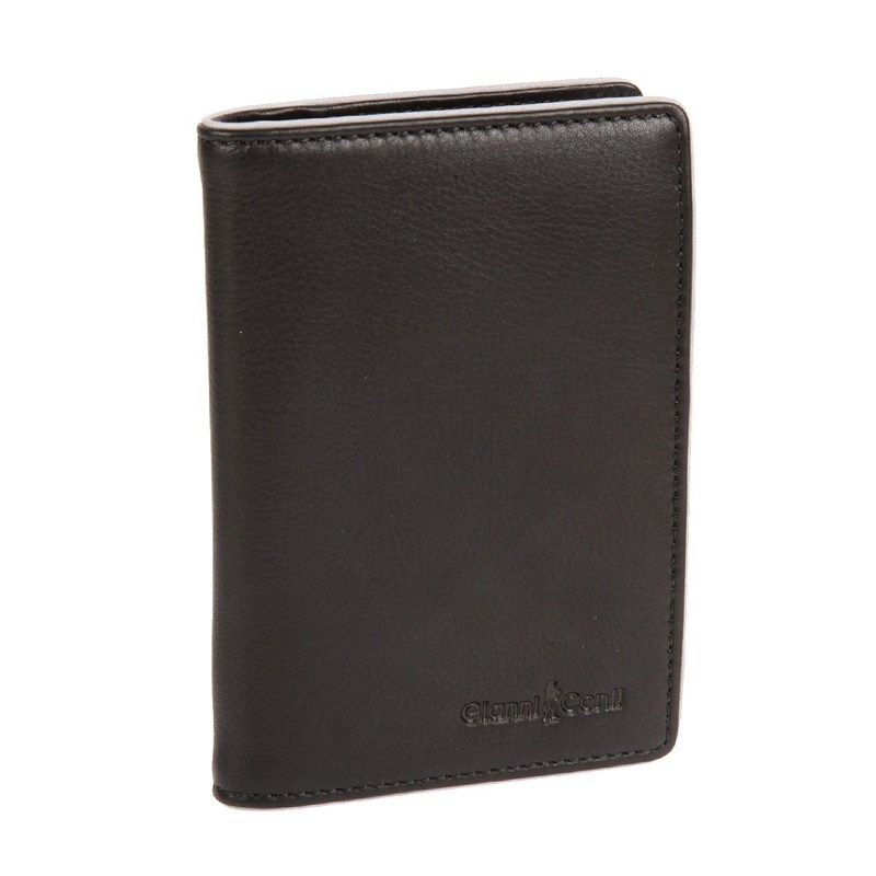 Cover for avtodokumentov Gianni Conti 1757456 black gray