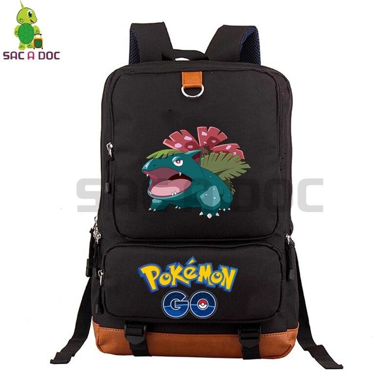 Pokemon Go Venusaur School Bag Laptop Backpack for Teenage Boys Girls Large Capacity Travel Bags Women Men Daily BackpackPokemon Go Venusaur School Bag Laptop Backpack for Teenage Boys Girls Large Capacity Travel Bags Women Men Daily Backpack