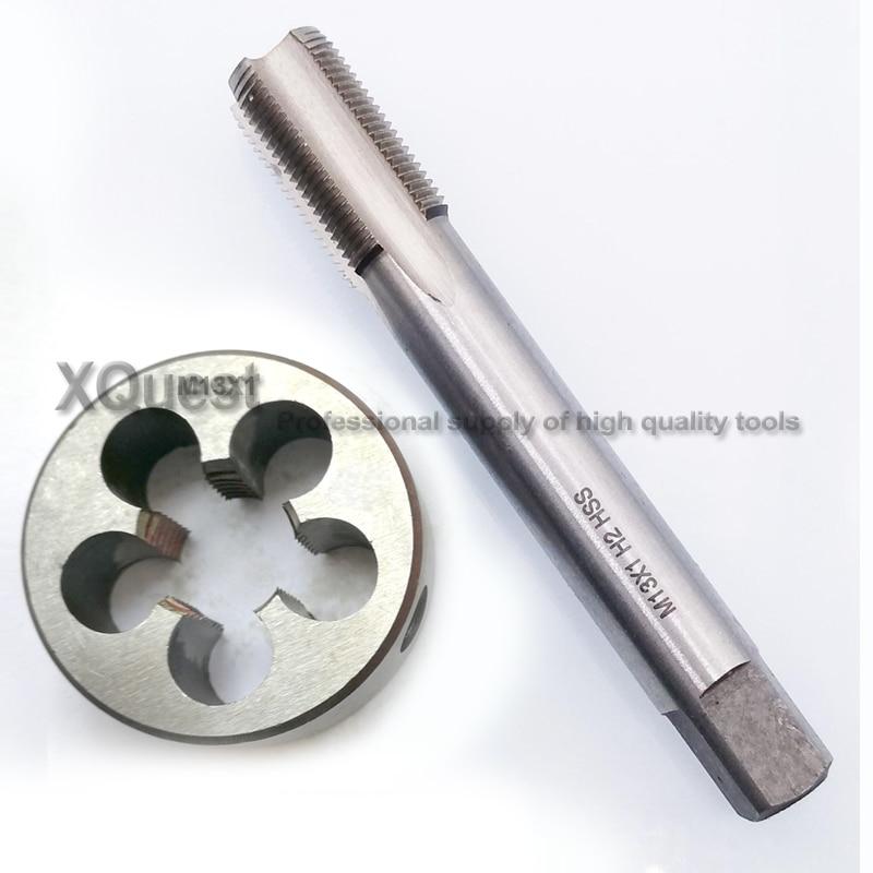 Werkzeuge Rational 1 Set Hss Metric Hand Tippen Und Sterben Set M13 M13x1 M13x0.75 13x1,5 Feine Schraube Gewinde Stecker Tippen Runde Stirbt M13x1.5 M13x1.25 M13x0.5 Handwerkzeuge