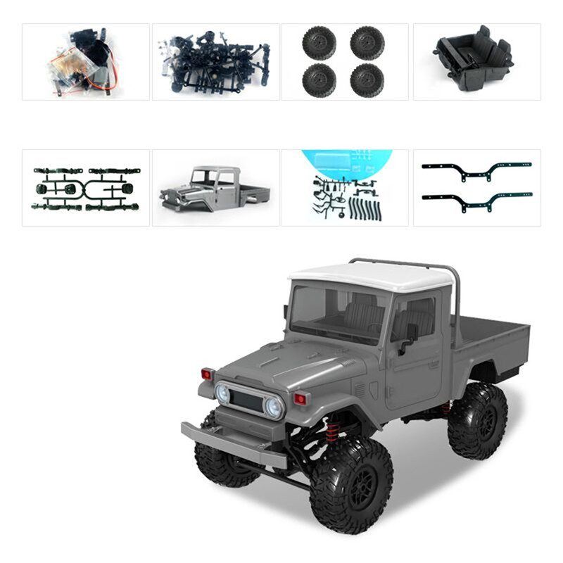 New Arrivals MN Model MN45 KIT 1/12 2.4G 4WD Rc Car without ESC Battery Transmitter Receiver Kids Toys GiftNew Arrivals MN Model MN45 KIT 1/12 2.4G 4WD Rc Car without ESC Battery Transmitter Receiver Kids Toys Gift