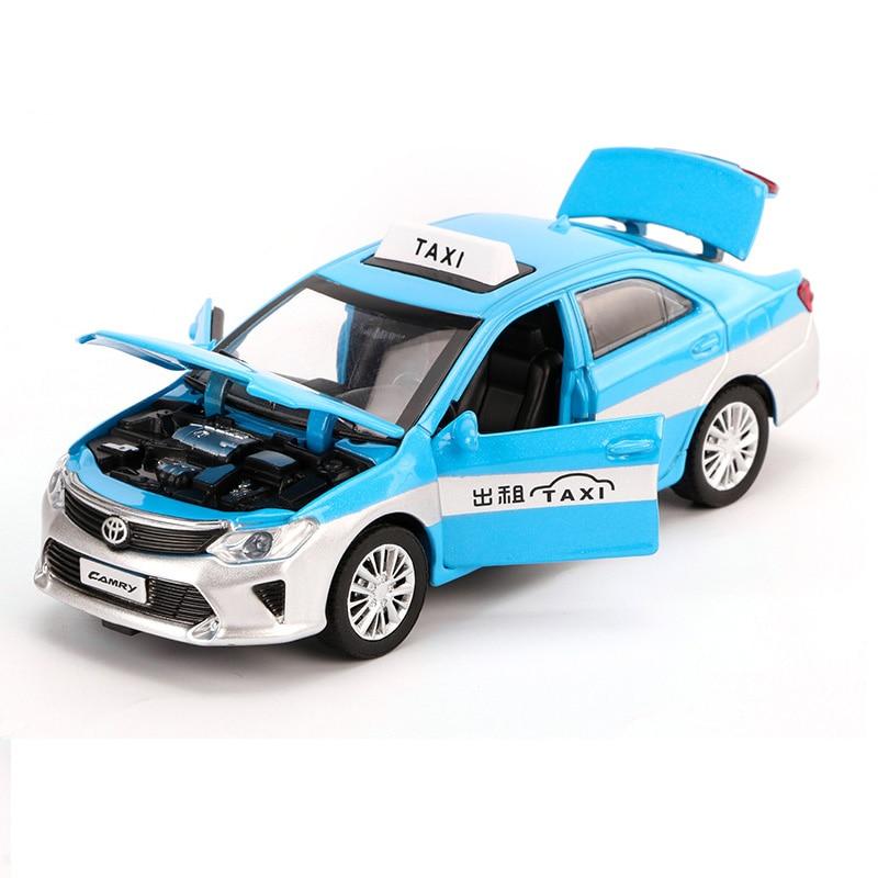 Alloy Classic sedan 1:32 DIECAST Model Auto juguetes pull back luz Sound
