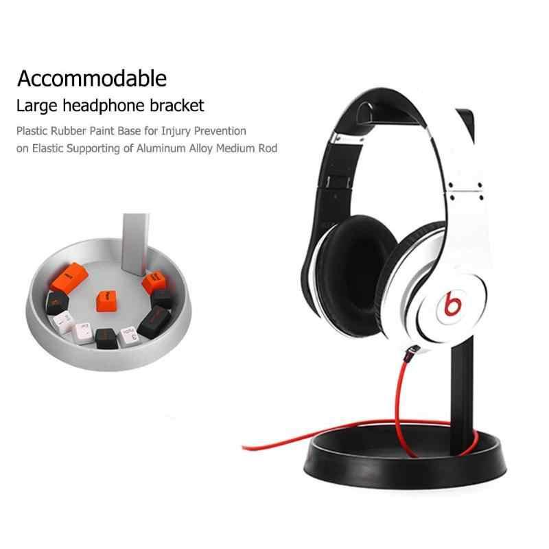 Headphones' Stand Universal Headphone Headset Hanger niversal Headphone Acrylic Headset Earphone Stand Desktop Headset Holder