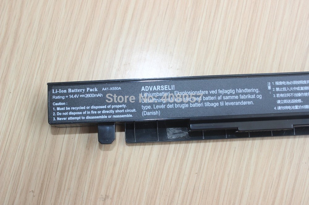 Image 4 - HSW 4Cell laptop Battery For Asus R510C R510D R510E R510L R510V x550 X550A X550C X550EA for A41 X550 A41 X550A-in Laptop Batteries from Computer & Office