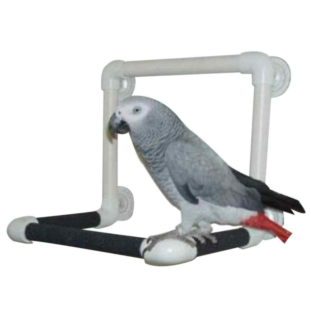 Adeeing большой ПЭТ жердь на подставке игрушка с присоской для попугаи купания