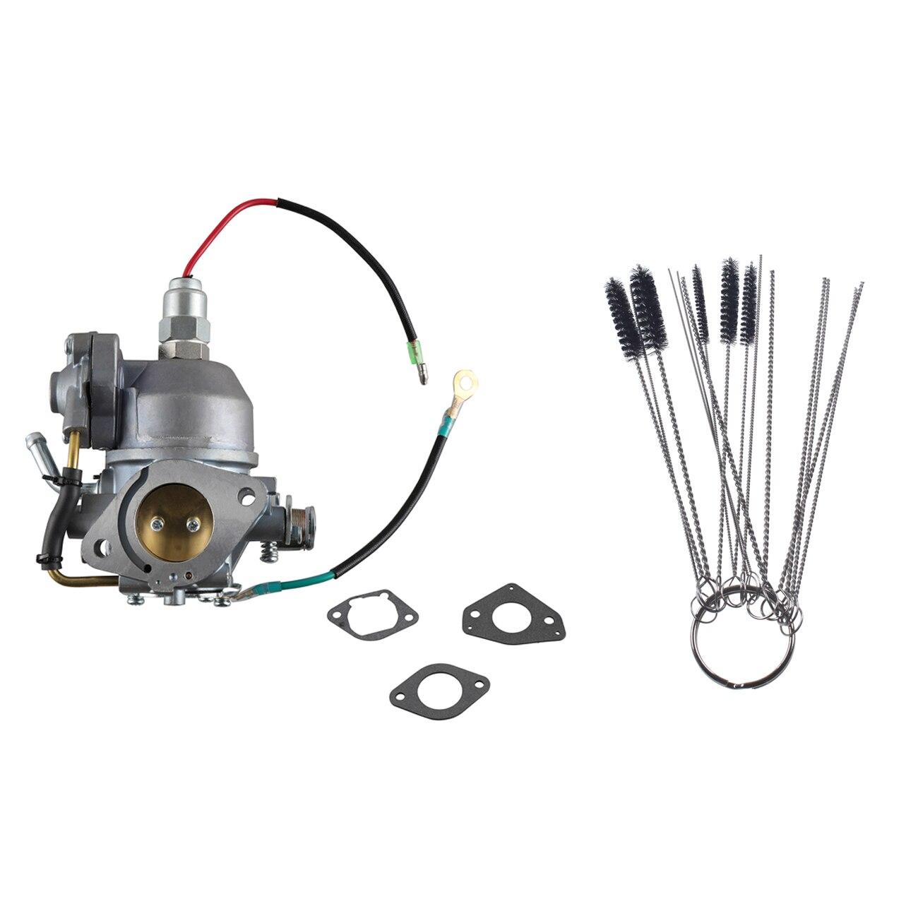 Carburateur avec solénoïde pour Kohler 24 853 102-S CV730 & CV740 brosse de nettoyage