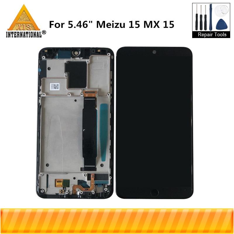 Axisinternational For 5 46 Meizu 15 MX 15 M881 Snapdragon 660 Super AMOLED LCD Screen Display