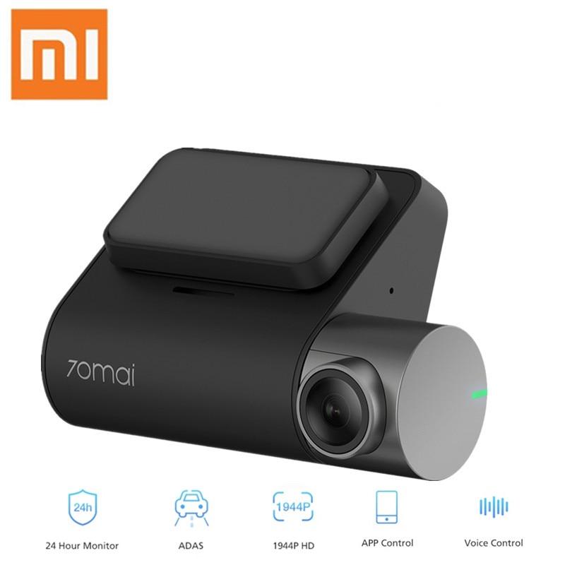 Xiaomi 70mai Pro Dash Cam RU Version1944P HD voiture DVR commande vocale 140 degrés Wifi moniteur de stationnement Vision nocturne enregistreur de conduite