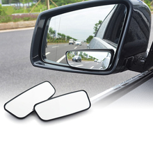 1 Pair Blind Spot Mirror Wide Angle Mirror 360 Degree Adjustable Convex Rear View Mirror Car Mirror For All Universal Vehicles vodool 2pcs frameless car blind spot mirror 360 degree adjustable wide angle convex rear view mirror car parking rearview mirror