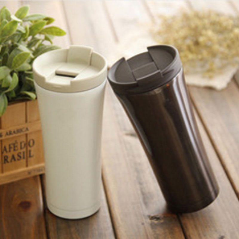 Stainless Steel Coffee Thermos Cup Termo 500ml Thermal Tumblers Garrafa Termica