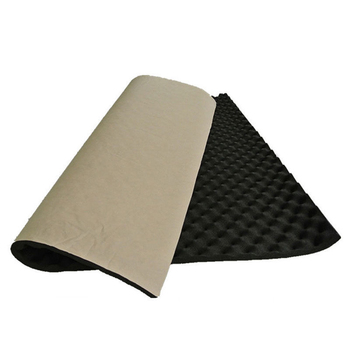 100x50cm Car Sound Deadener Mat Sound Deadening Noise Insulation Acoustic Dampening Foam Subwoofer Mat autos Accessories 1