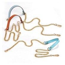 Leather Metal Bag B Chain Accessories Luxury Decompression Single Shoulder Strap 110cm Non-adjustable Strap Obag Accessories