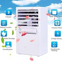 Home Office USB Air Cooler 3 Speeds Mini Air Conditioner Device Air Conditioning Fan Cooler Purifier Humidifier Cooling Machine