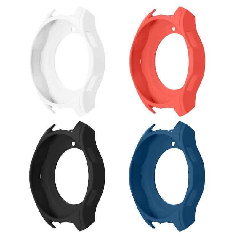 Фото Высококачественный портативный силиконовый чехол для часов Защитная крышка