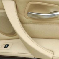 1*100% Brand New Ana High Quality ABS Beige Right Side Door Panel Handle Pull Trim Cover for BMW E90 E91 316 318 320