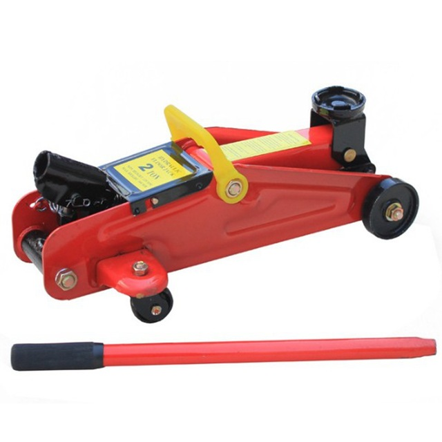 Horizontal Jack 2T Ton Car Steam Off Road Vehicle Hydraulic Hand Cranked Double Pump Car Thousand Gold Top