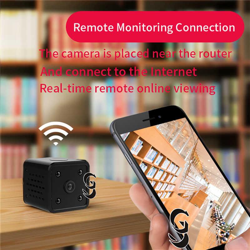 Ночь версия видео записывающая IP камера Поддержка 64 г TF карты 140 градусов 0,4 дюймов Мини видеокамера 1080 P Высокое разрешение Cam