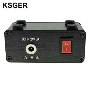 Image 5 - KSGER Mini estación de soldadura T12 DIY STM32 OLED V2.01, controlador con mango de 907, Kits de carcasa de aleación de aluminio, herramientas de soldadura T12, puntas de hierro