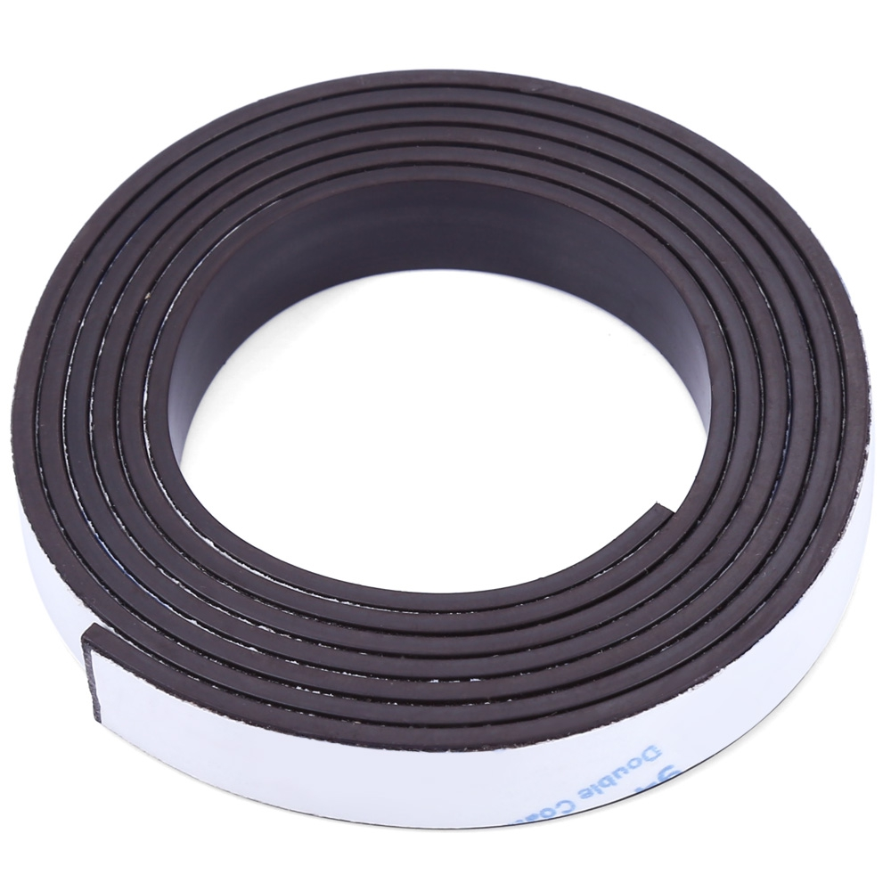 A++ 10 X 1.5mm 1m Self-adhesive Flexible Rubber Magnet Strip