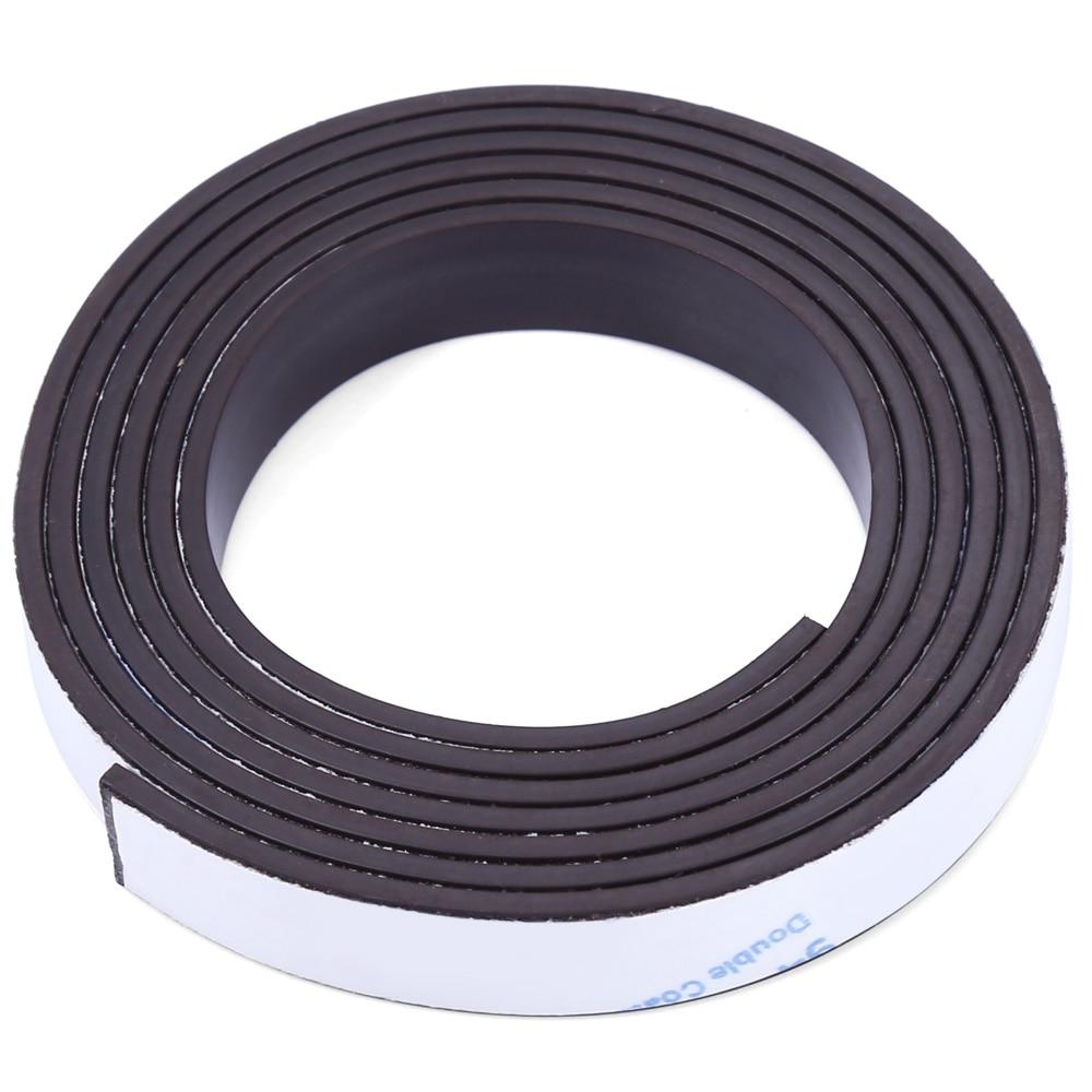 A++ 10 X 1.5mm 1m Self-adhesive Flexible Rubber Magnet Strip