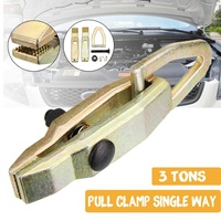 Car Single Way 3 Ton Self Tightening Long Nose Puller Clamp Grips & Auto Body Repair Tools