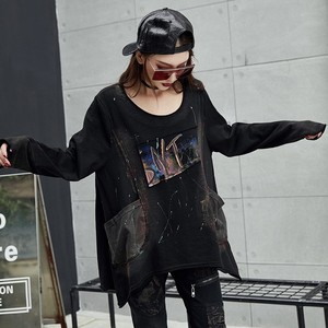 Image 5 - Max LuLu 2019 Luxury Korean Harajuku Ladies Spring Tops Tee Womens Printed T Shirt Vintage Punk Clothes Female Black Long Tshirt