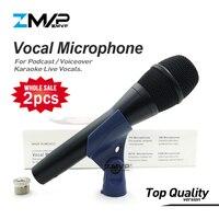 2 шт./лот Одежда высшего качества KSM9 Профессиональный живой вокал KSM9HS динамический проводной микрофон караоке Суперкардиоидная Podcast Microfono Mic