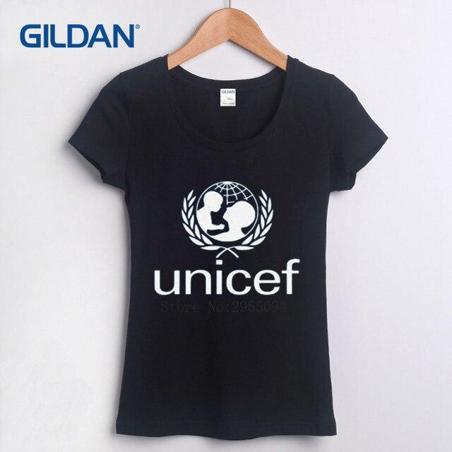 b5457732d8 Unicef World Society Normal 2018 T-Shirt vente été pas cher T-Shirt coton