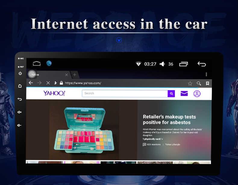ثماني النواة 1024*600 أندرويد 8.1 مشغل أسطوانات للسيارة نظام تحديد المواقع والملاحة لاعب Deckless سيارة ستيريو لشركة هيونداي فيرنا 2010-2016 راديو سماعة واي فاي