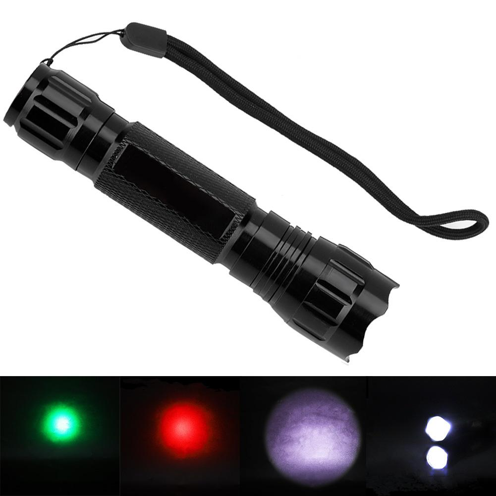 18650 AAA Battery Handy Light XPE Camping Torch LED Flashlight BR