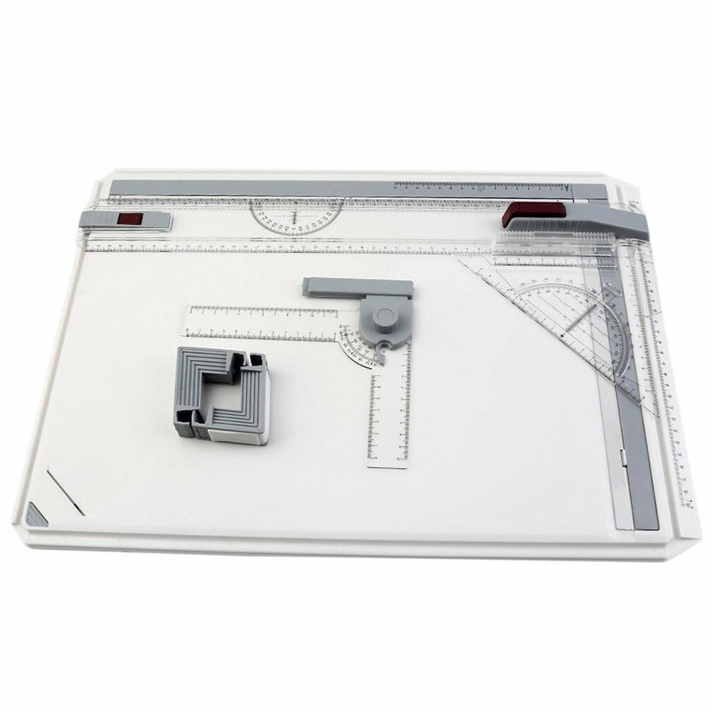 Haute qualité A3 Table à dessin avec mouvement parallèle Angle réglable Support d'outil de dessin d'art Architectural livraison rapide - 3
