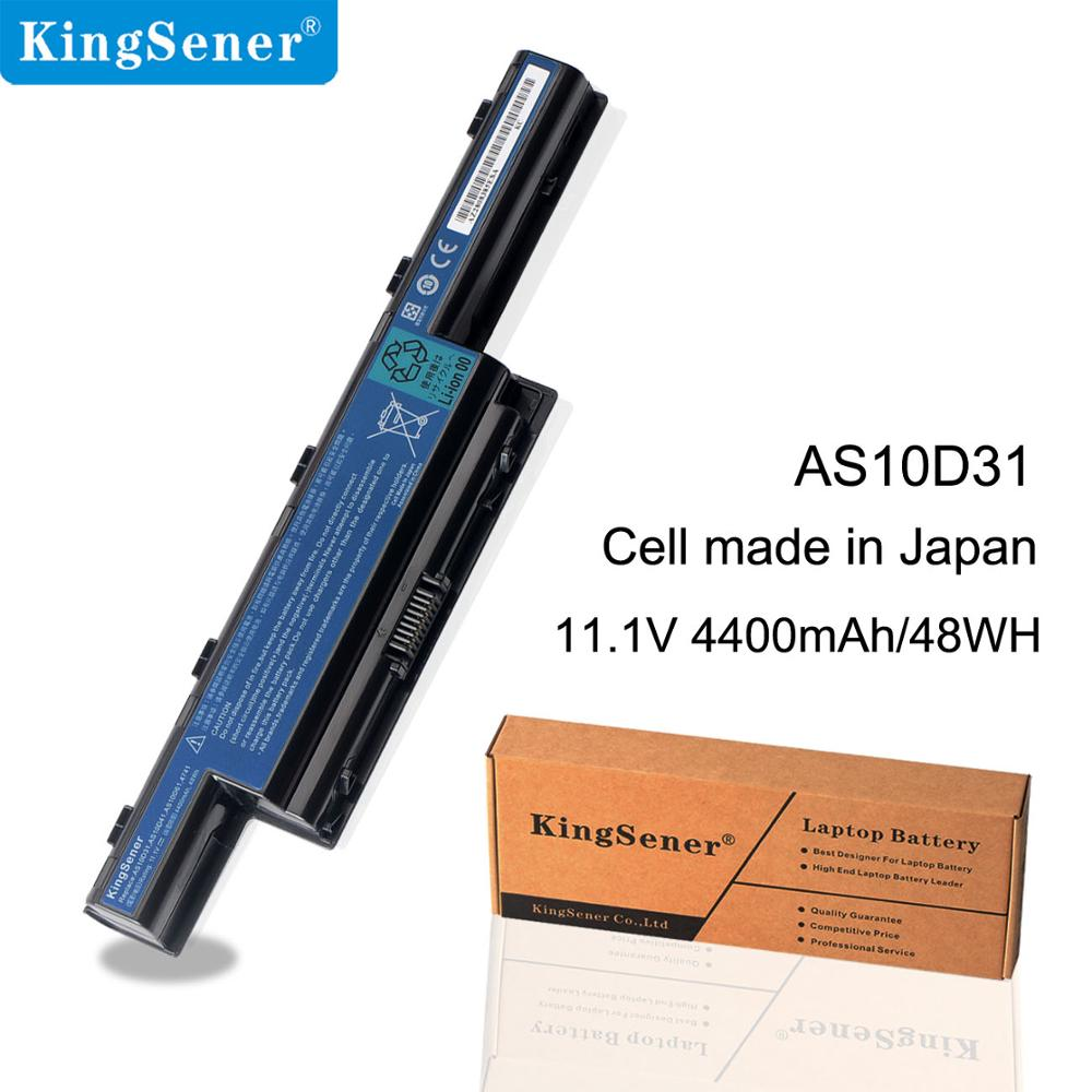 Kingsener Laptop <font><b>Battery</b></font> For <font><b>Acer</b></font> <font><b>Aspire</b></font> V3 5741 5742 5750 5560G 5741G <font><b>5750G</b></font> AS10D31 AS10D51 AS10D61 AS10D71 AS10D75 AS10D81 image
