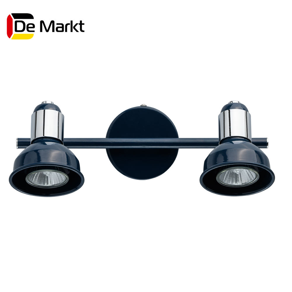 Wall Lamps De Markt 552020802 lamp Mounted On the Indoor Lighting Lights Chandelier spots led wall sconce modern wall lamp decorative wall lights decorative sconces led bedside lamp wall makeup mirror lights bathroom
