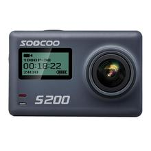 170 Degrees Lens Sports Portable Camcorder 30m Action Ultra Bulit in 1250mAh (Detachable) HD 4K H.264 Camera