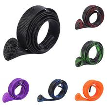 1 Piece Spinning Casting Fishing Rod Cover Extensible Protective Pole Sleeve Case Pesca Peche Accessories