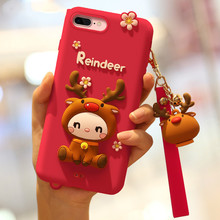 phone cover for  8plus mobile case iphone7 female models silicone shatter-resistant 7p cute