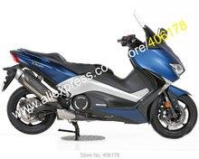 Лидер продаж, для Yamaha TMAX530 2017 2018 TMAX 530 T-MAX 530 17 18 синих Подержанный мотоциклетный обтекатель Наборы (литья под давлением)