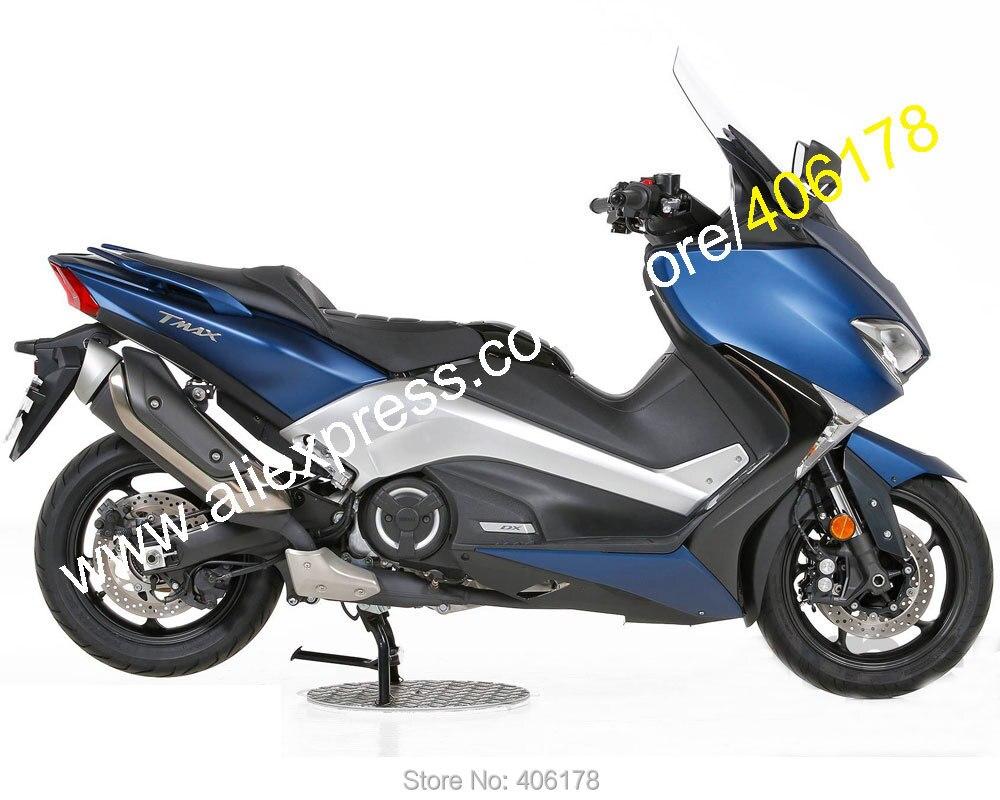 Offres spéciales, pour Yamaha TMAX530 2017 2018 TMAX 530 T-MAX 530 17 18 Kits de carénage de moto de rechange bleu (moulage par Injection)
