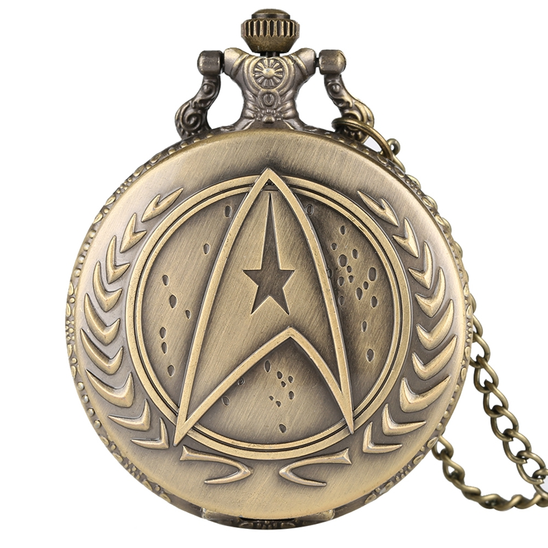 Retro Darthworks Vader Design Cool Face War Trek Theme Quartz Pocket Watch Awesome Necklace Gifts For Kids Men Women Fans