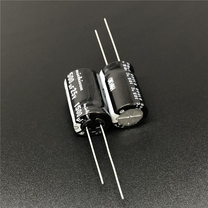 10pcs 1500uf 25v Panasonic Electrolytic Capacitors 25v1500uf />/>Upgrade 16v1500uf
