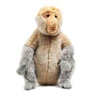Горячая Малайзия Туризм год плюшевые куклы Proboscis обезьяна плюшевый талисман игрушки куклы большой мультфильм Zhwenyin