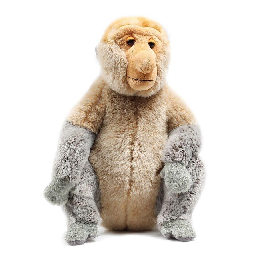 HOT malaisie année de tourisme en peluche poupée Proboscis singe mascotte en peluche poupée grand dessin animé poupée Zhwenyin