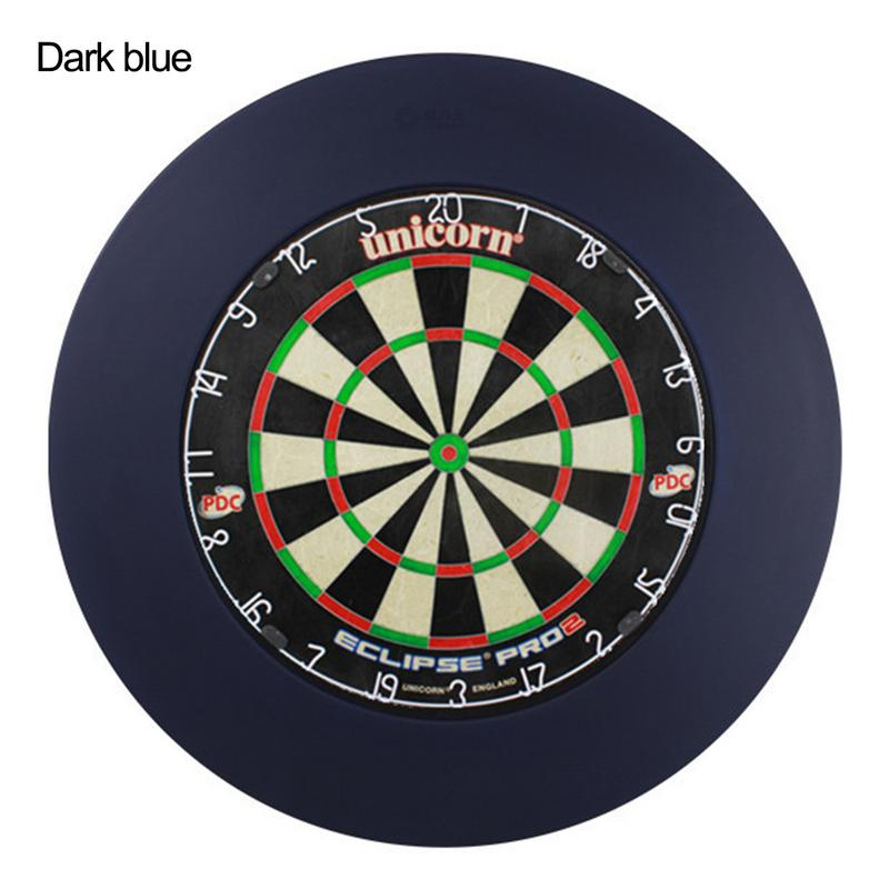 PU Darts Target Dartboard Protection Ring Darts Disc Retainer Wall Protection Circle Durable