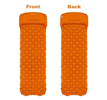 picnic mat air bed Sleeping Pad Camping Mat With Pillow air  1