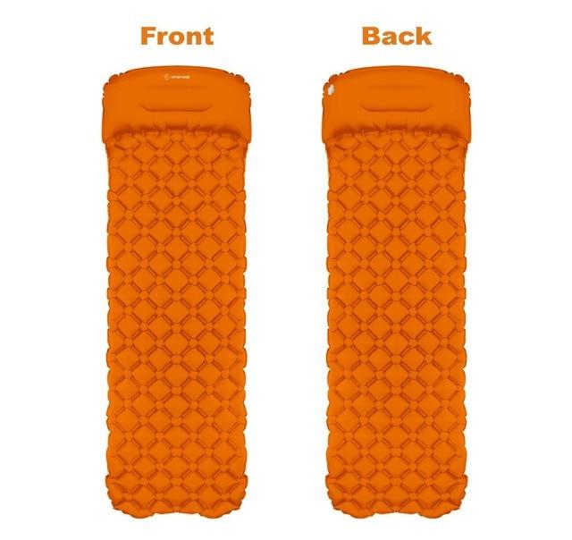 picnic mat air bed Sleeping Pad Camping Mat With Pillow air  1