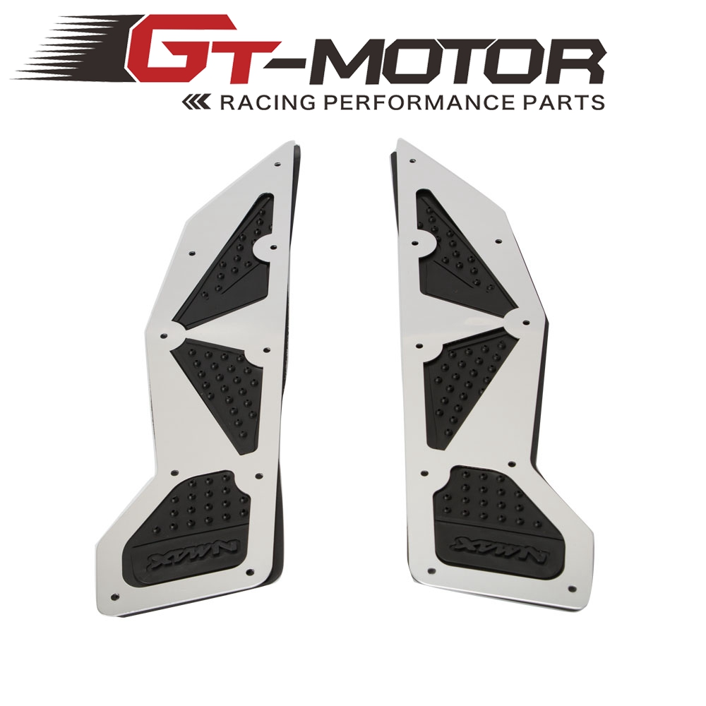 Motorcycle Modified parts mats CNC footrest Aluminum alloy pedal plate For <font><b>Yamaha</b></font> <font><b>Nmax</b></font> 155 Nmax155 <font><b>nmax</b></font> <font><b>125</b></font> 2016-2019 image
