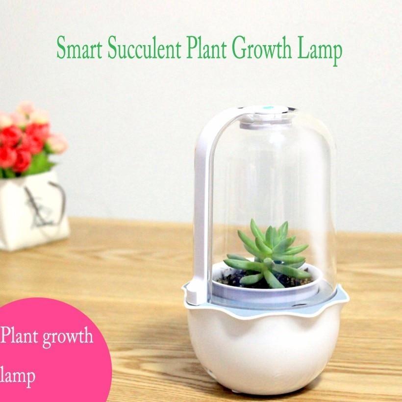 Smart Succulent Plant Growth Lamp Full Spectrum LED High grade Imitation Sun Light Indoor Household Feshy Fill Light Flower Pot