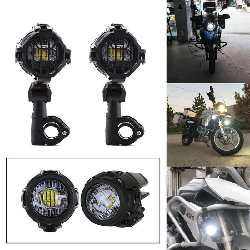 1Set Universal Motorcycle LED Auxiliary Fog Light Assemblie Driving Lamp 40W Headlight For BMW R1200GS/ ADV/ F800GS DC 10V-24V1Set Universal Motorcycle LED Auxiliary Fog Light Assemblie Driving Lamp 40W Headlight For BMW R1200GS/ ADV/ F800GS DC 10V-24V
