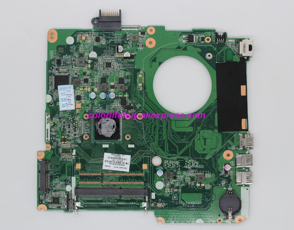 Genuine 828164 001 828164 601 DA0U8AMB6A0 w N2840 CPU Laptop Motherboard Mainboard for HP 15 15 F Series NoteBook PC-in Laptop Motherboard from Computer & Office