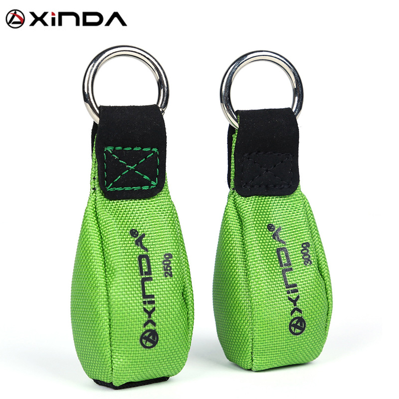 250g/300g Arborist Throw Weight Bag Pouch Tree Rigging Gear Rock Climbing Equipment Green